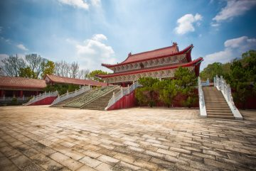 Qiqushan Great Temple Zitong County